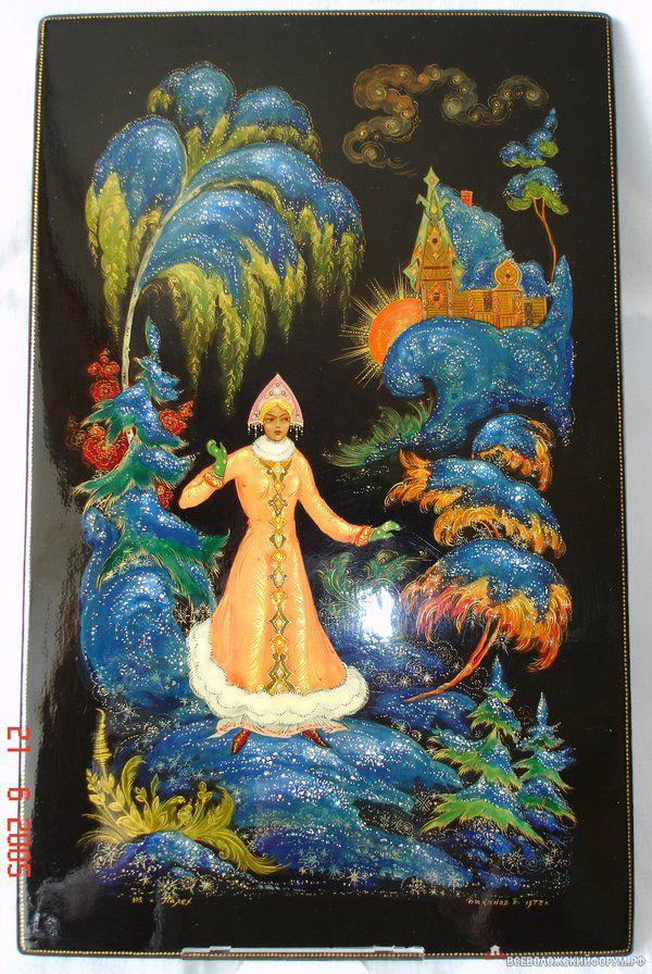 Палехская живопись