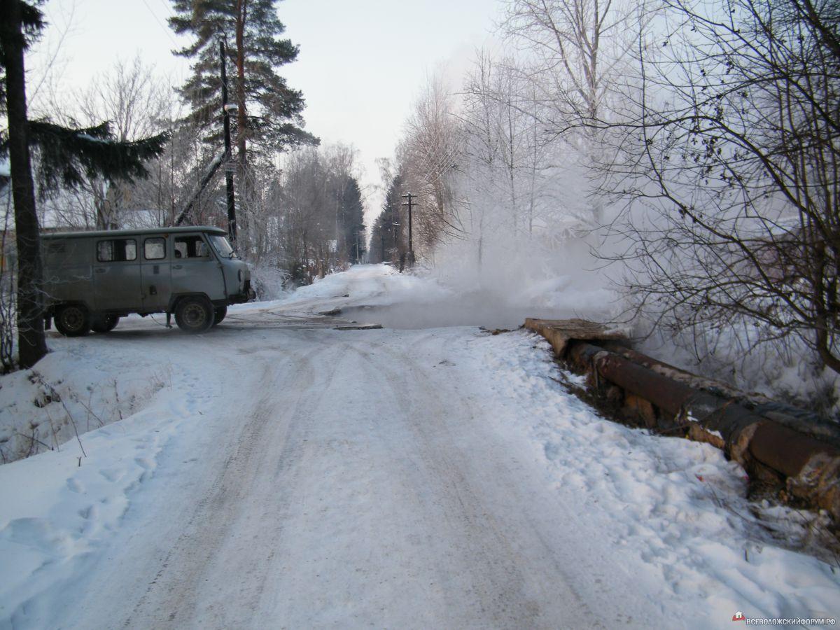 авария на теплотрассе 2012г.