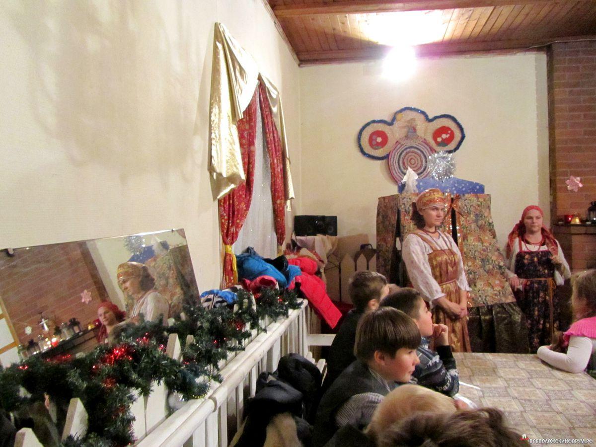 Рождественский вечер в Приютино