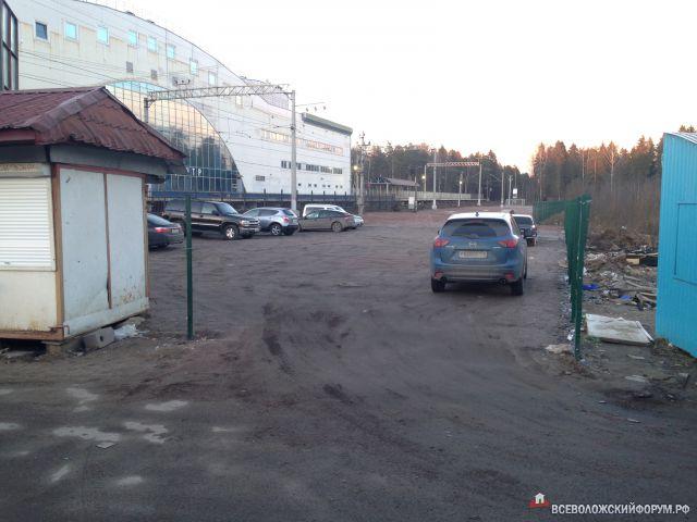 Парковка у Всеволожской